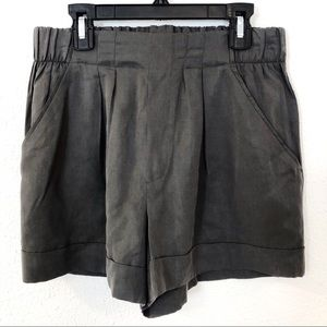 Philosophy Charcoal Gray Womens Shorts Size S